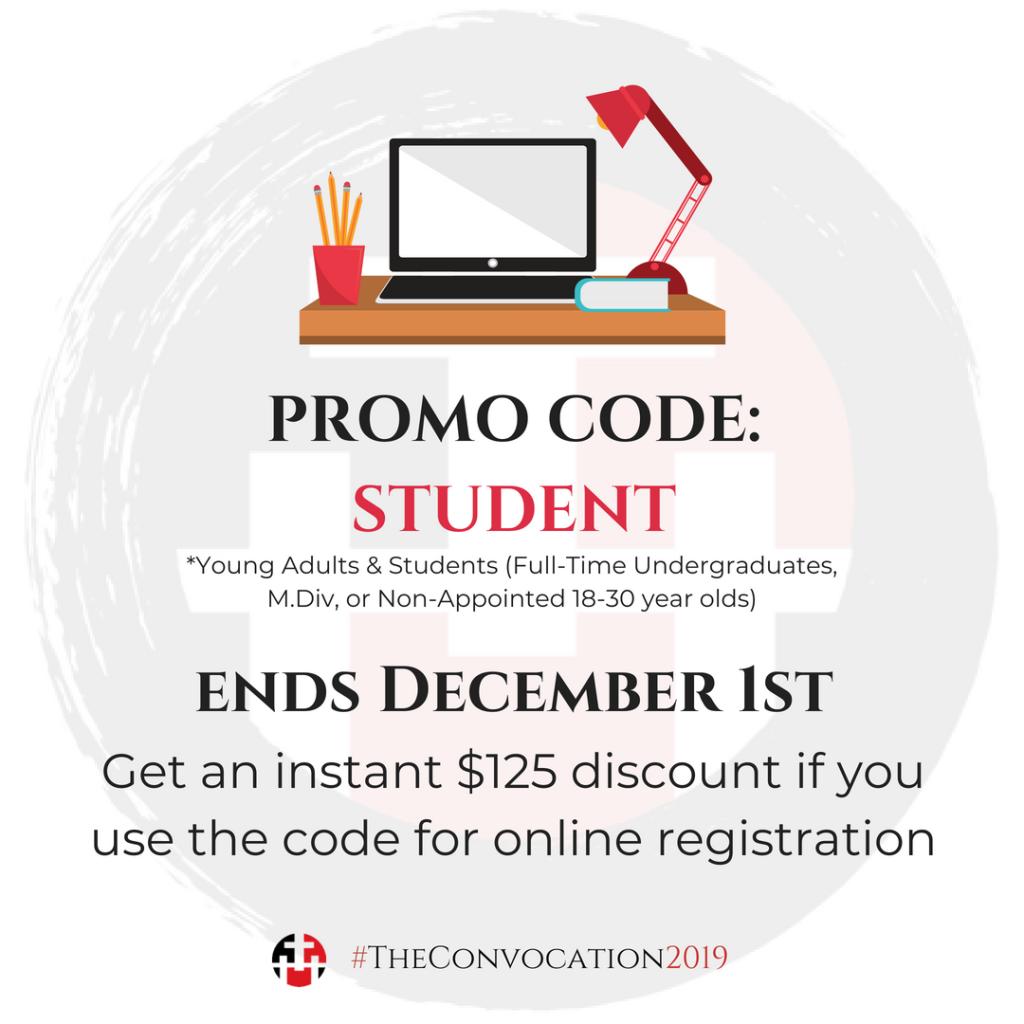 Promo code STUDENT ends December 1st